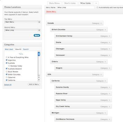 how to create custom link menu in wordpress