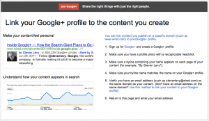 google authorship, blogsitestudio.com/the-chute-to-google-hell