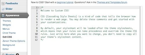 custom css, blogsitestudio.com