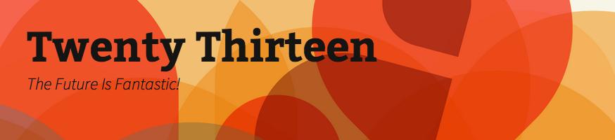 twenty thirteen, blogsitestudio.com