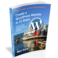 Create a WordPress Website ebook can be yours FREE