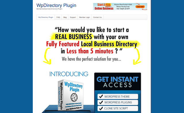 wp directory plugin, blogsitestudio.com