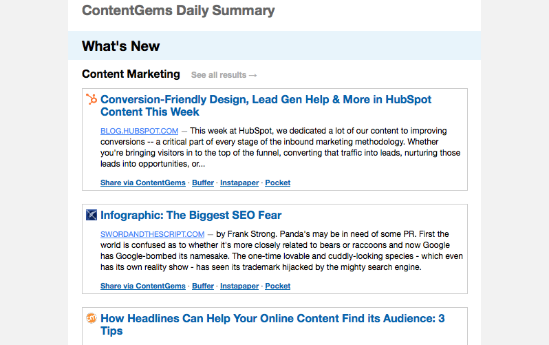 content gems rss feed