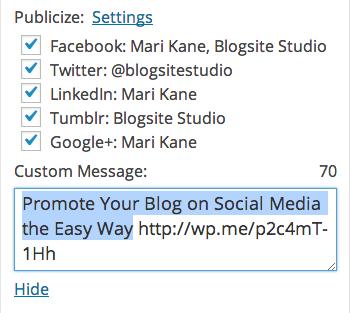 publicize box, blogsitestudio.com