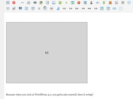wordpress 3.9 embed