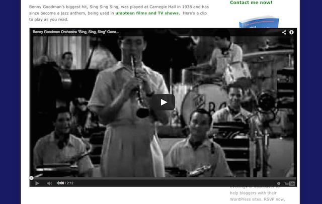 wordpress 4.0 video embed