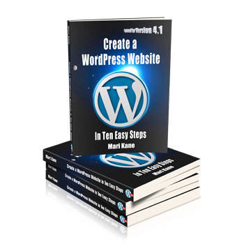 create a wordpress website 4.1 350