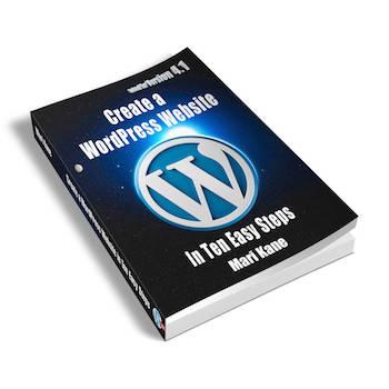 create a wordpress website ebook