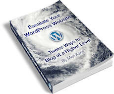 escalate your wordpress website