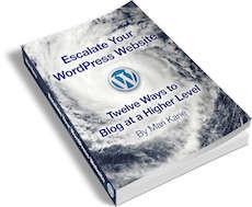 escalate your wordpress website