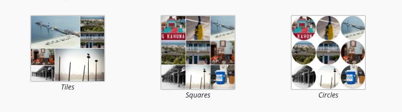 tiled galleries WordPress Photo Plugins