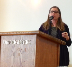 Mari Kane at Firefighters Hall