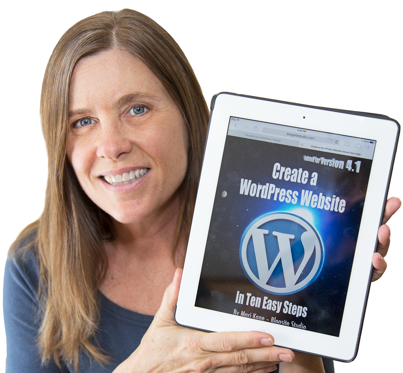Mari Create a WordPress Website c-up