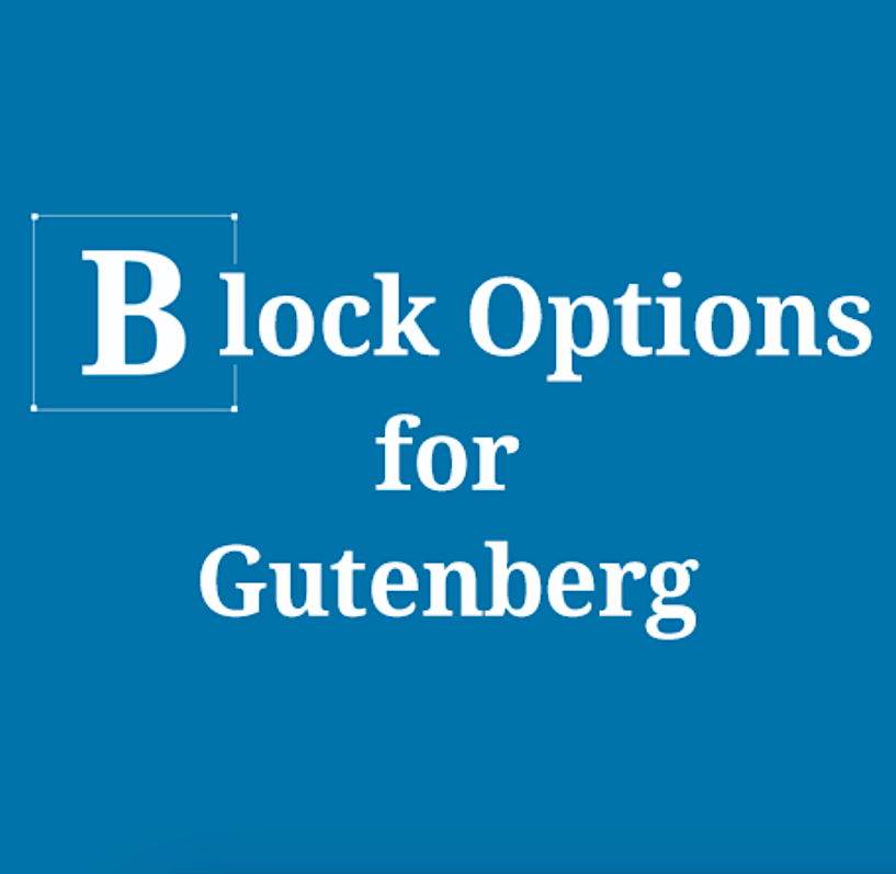 Block Options