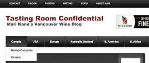 tasting room confidential menus, tastingroomconfidential.com