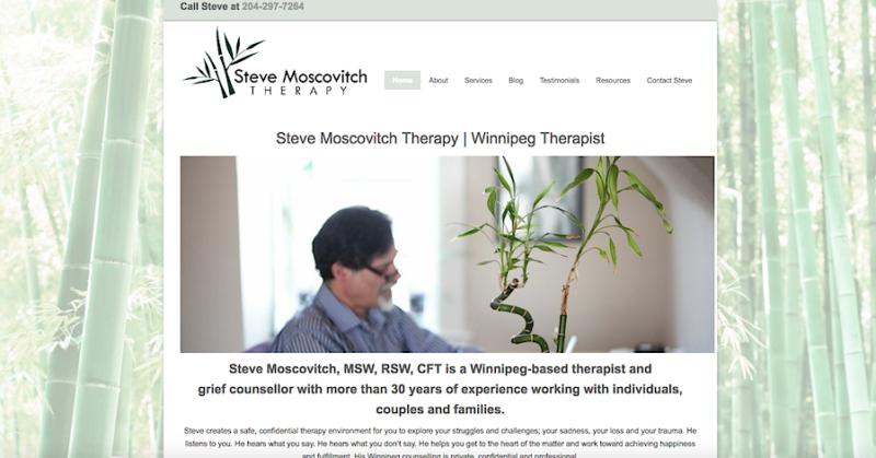 Steve Moscovitch home