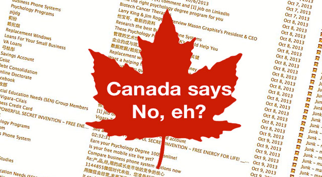 How the Canadian Anti-Spam Law Affects Bloggers