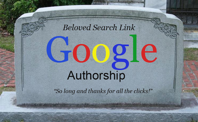 The End of Google Authorship as We Knew It
