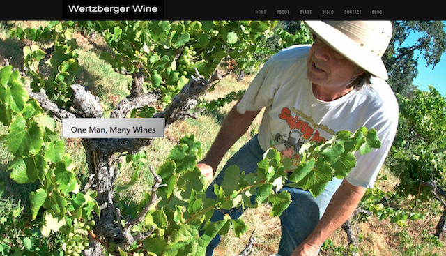 Wertzberger wine site