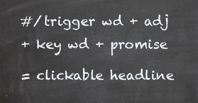 1 Awesome Headline Formula to Increase Your Blog Clicks Immediately