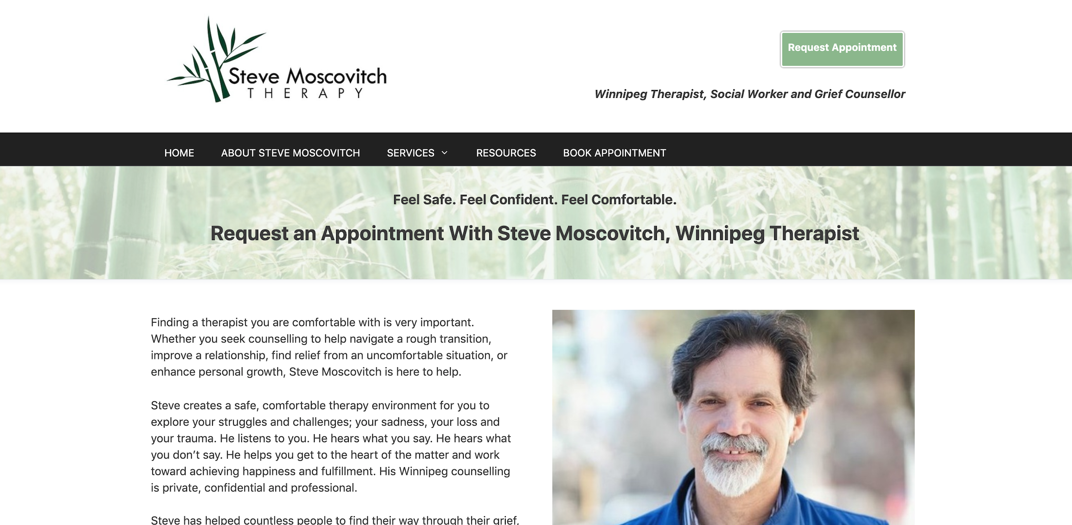 steve moscovitch therapy