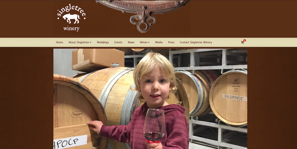singletree winery home