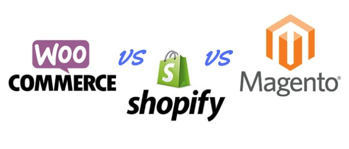 woo vs shopify vs magento