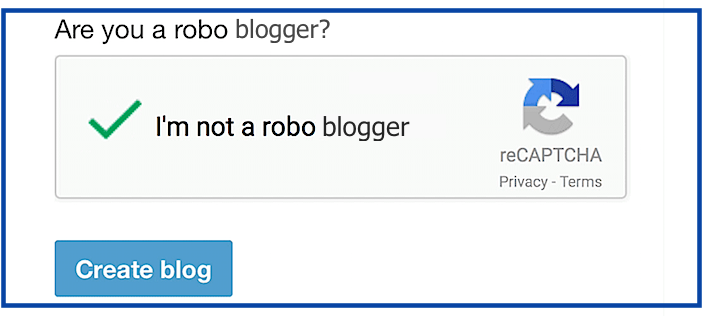 How to Prove Your Humanity When You Are Not a Robo Blogger