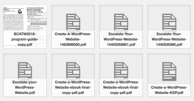 wordpress 4.7 pdf images