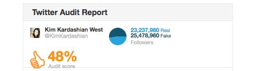 kardashian twitter audit