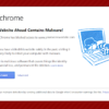 google malware alert