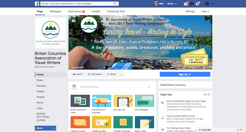 BCATW FB Biz page
