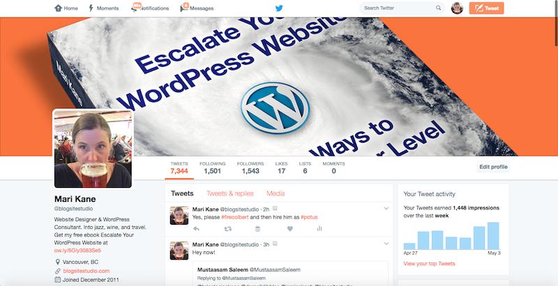 Blogsite Studio Twitter