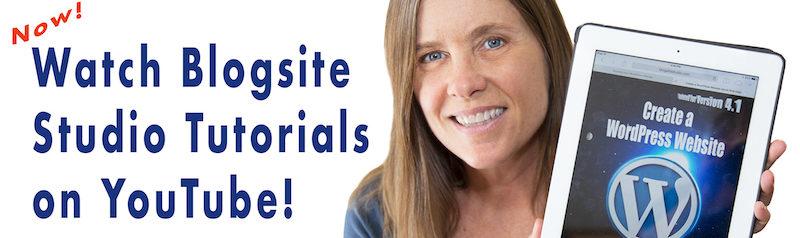 Blogsite Studio on Youtube banner