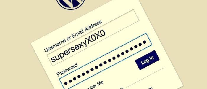 protect your wordpress username