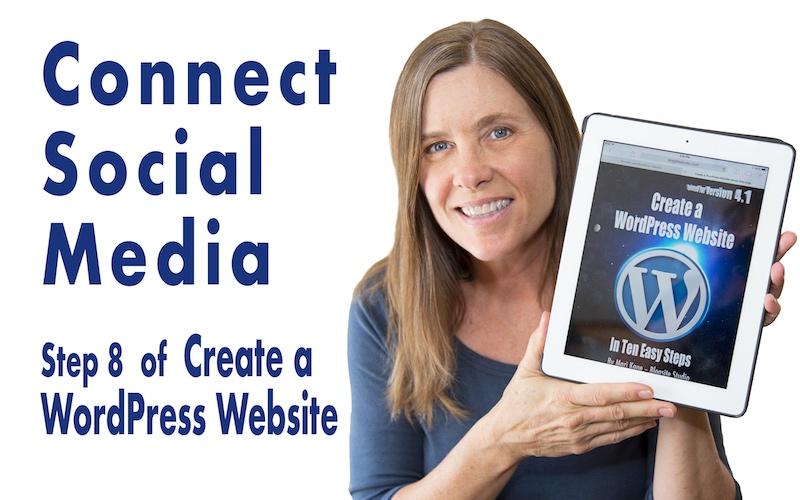 Create a WordPress Website Step 8 Connect Social Media