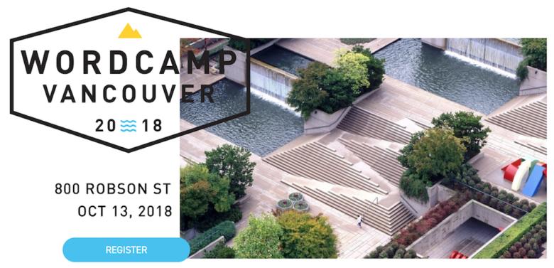 wordcamp vancouver 2018