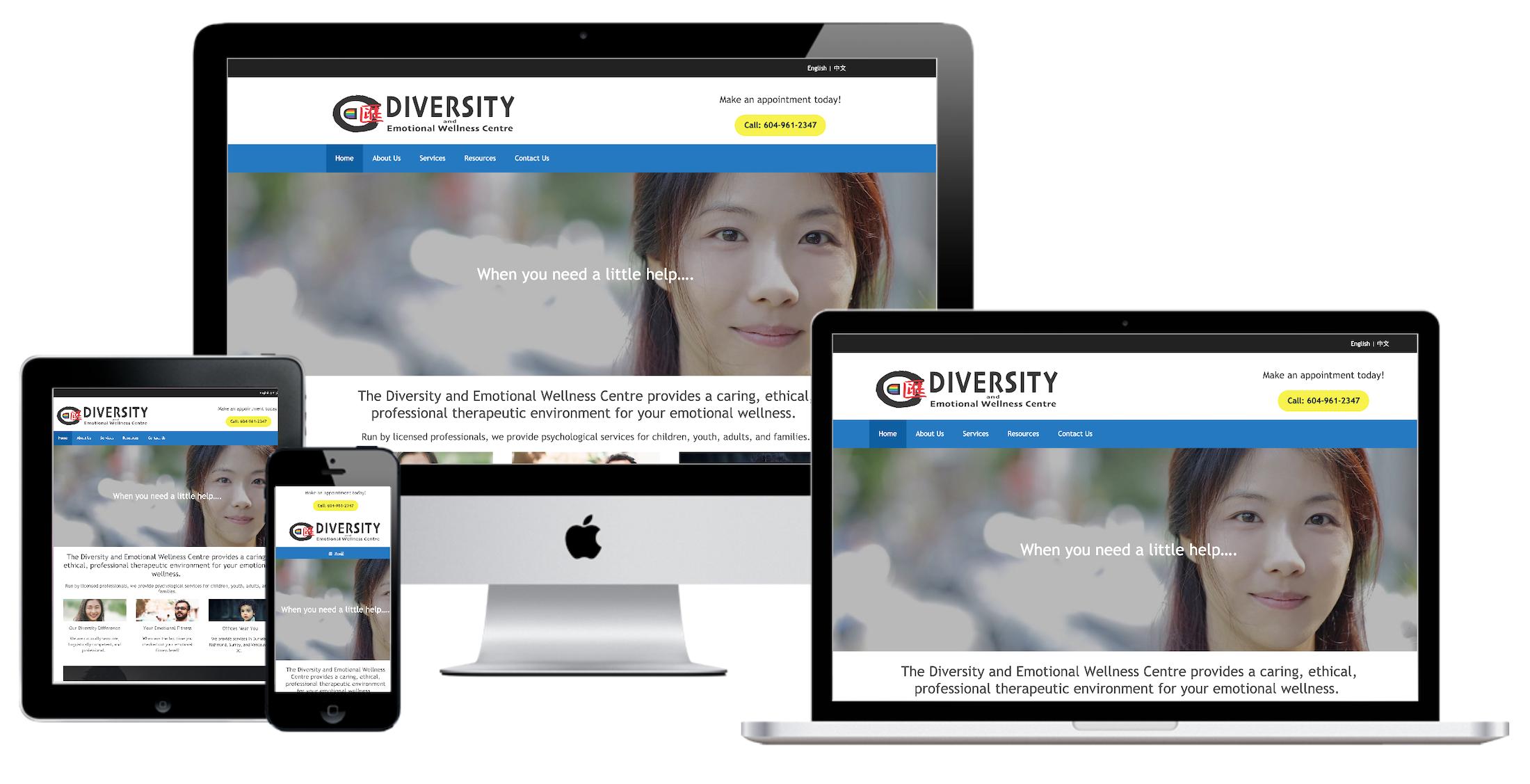Diversity Centre devices