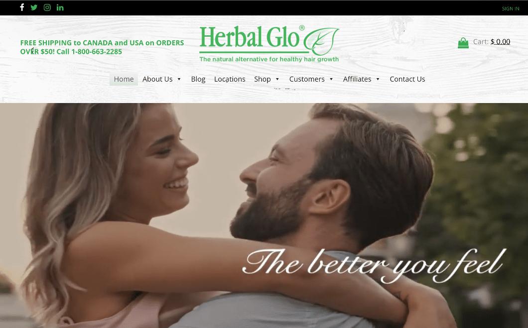 Herbalglo Home