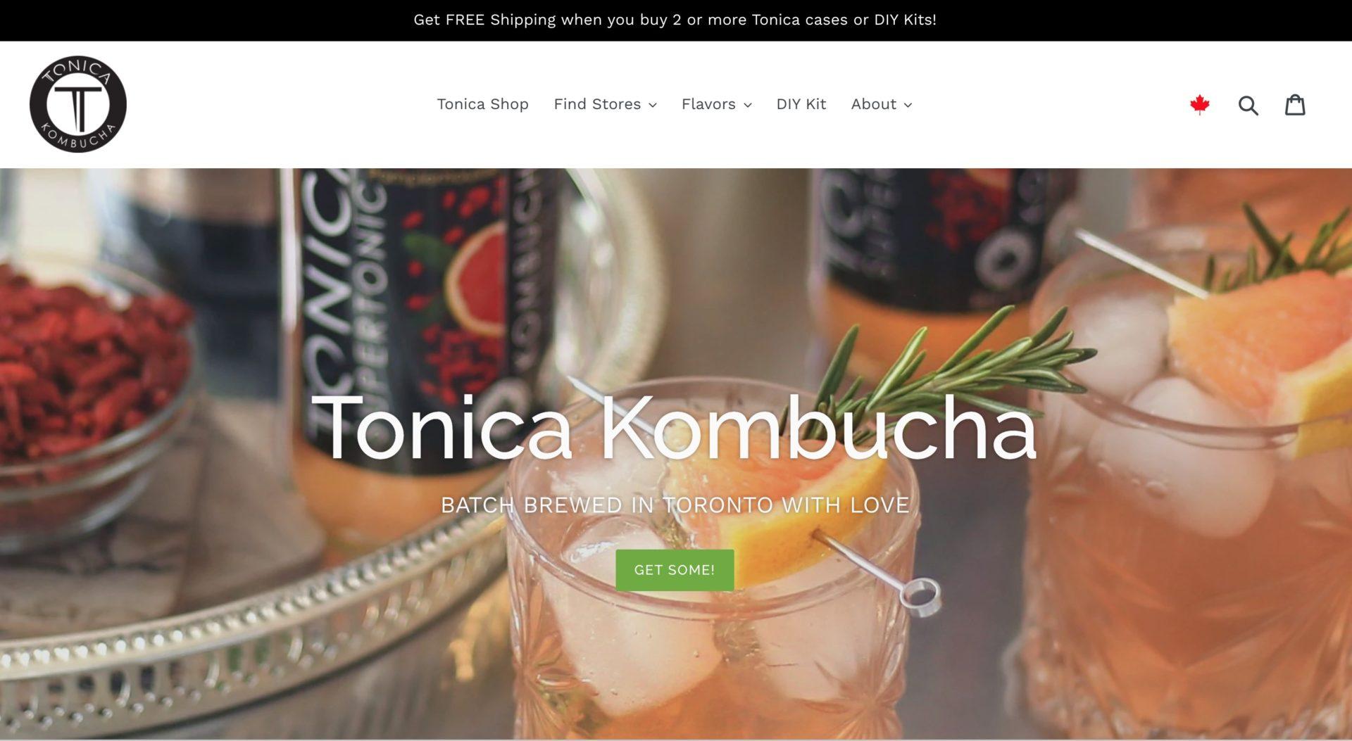 Tonica Home